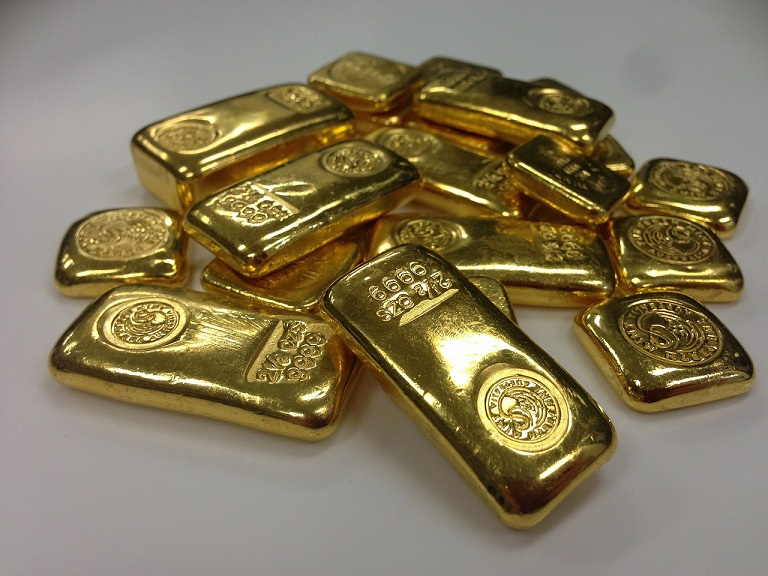 L'ingotti d'oro