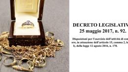 I 3 punti chiave del nuovo decreto legge NECESSARI per scegliere il compro oro giusto